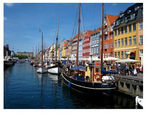 Copenhagen.Boats